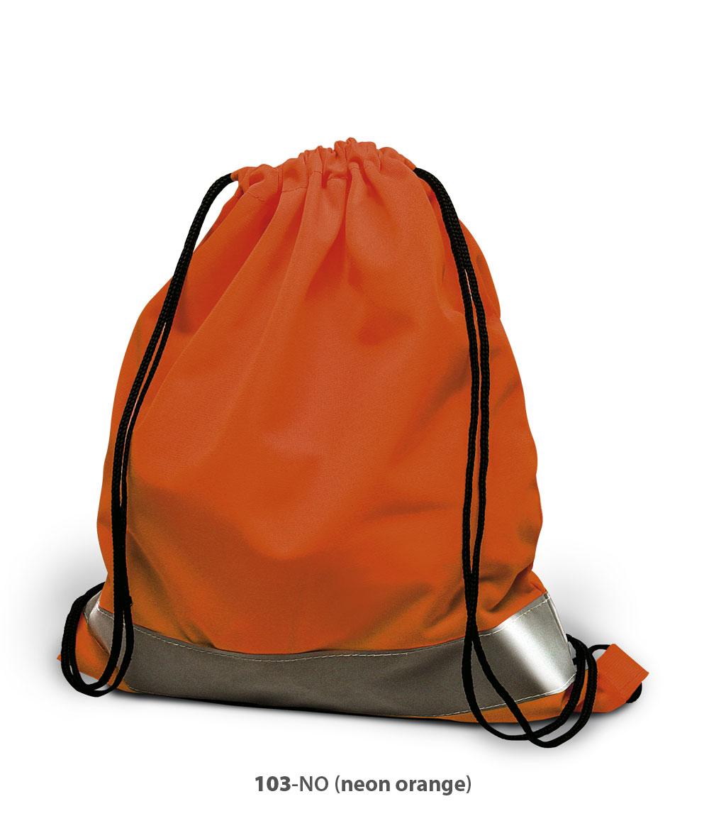 Polyester Beutel Arnheim in Neon orange