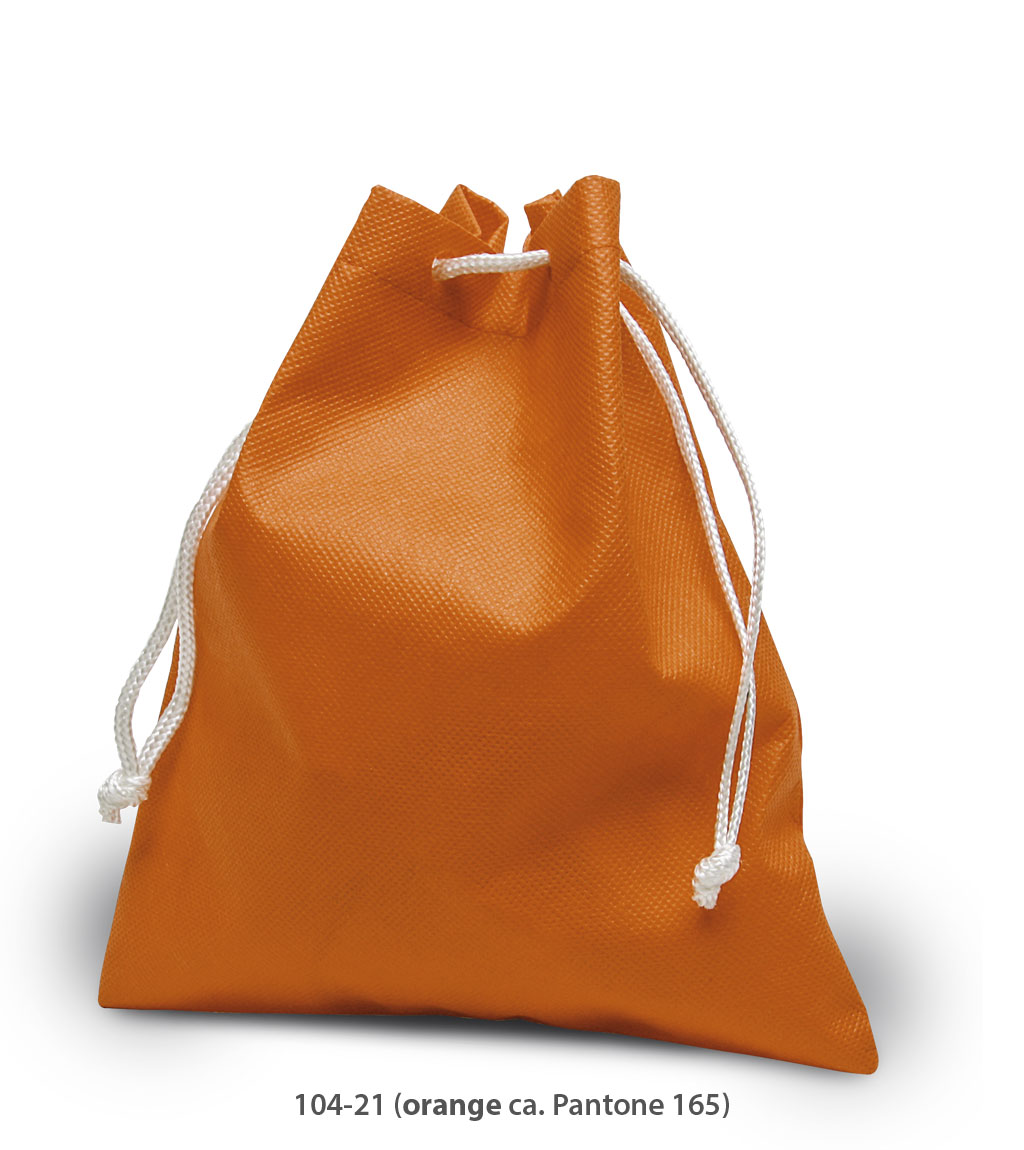 Non-Woven Beutel Hasselt in orange