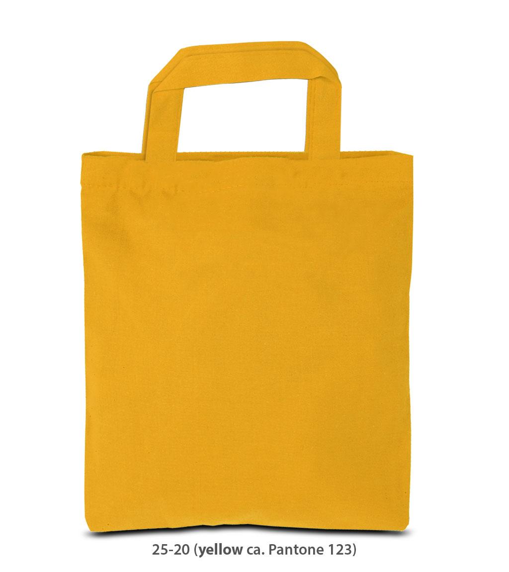 Baumwolltasche Kairo gelb