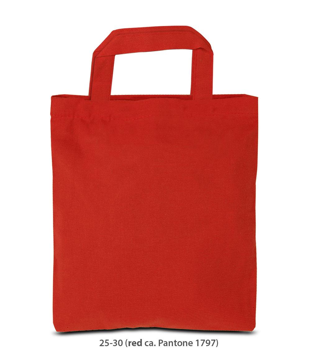 Baumwolltasche Kairo rot