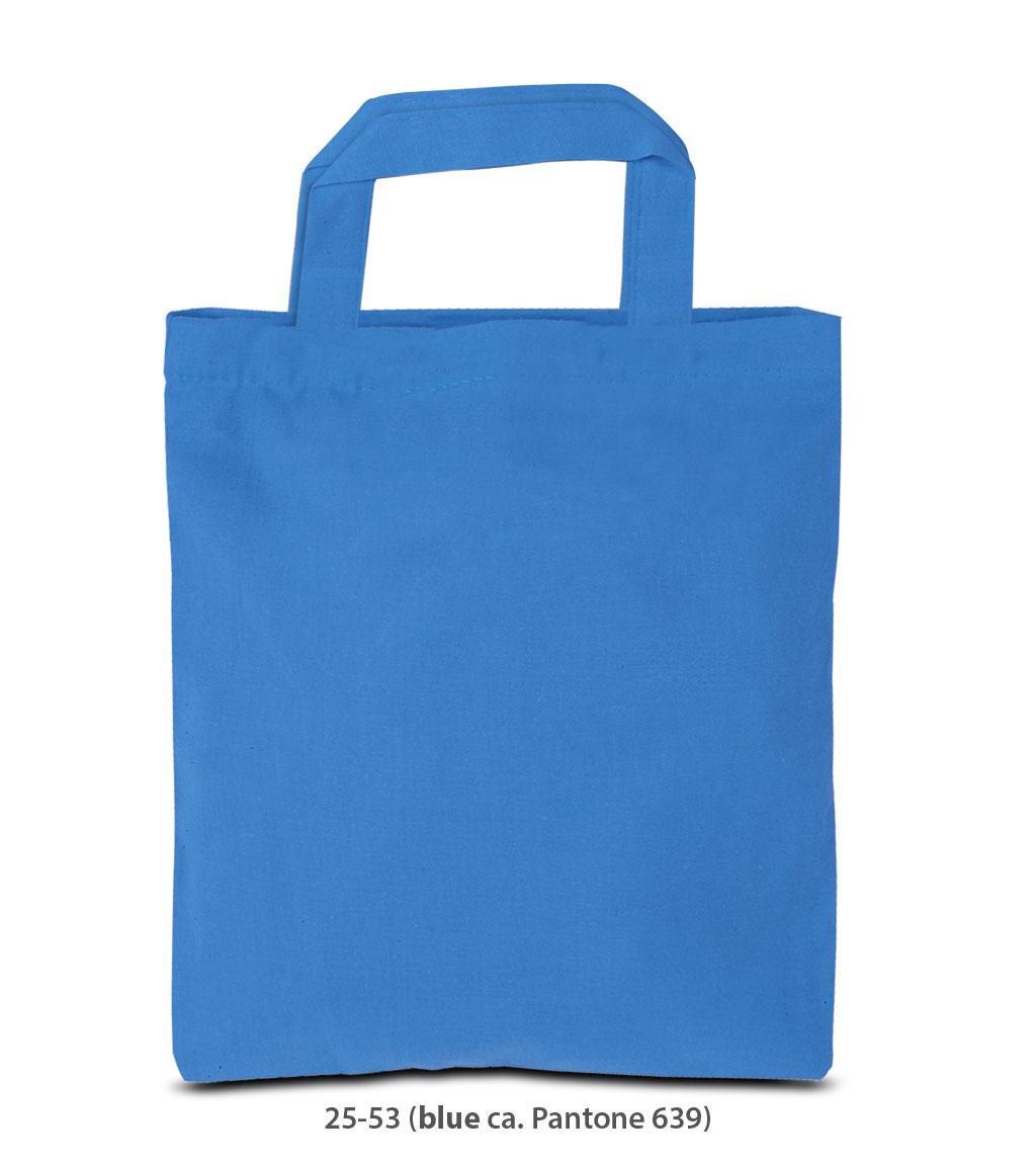 Baumwolltasche Kairo blau