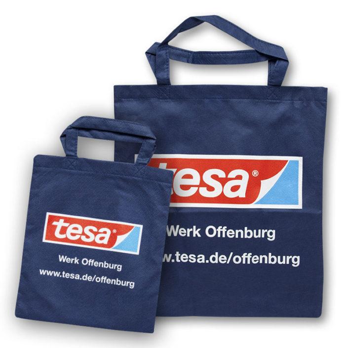 """Non-Woven Tasche Wien mit """"Tesa""""-Aufdruck"""