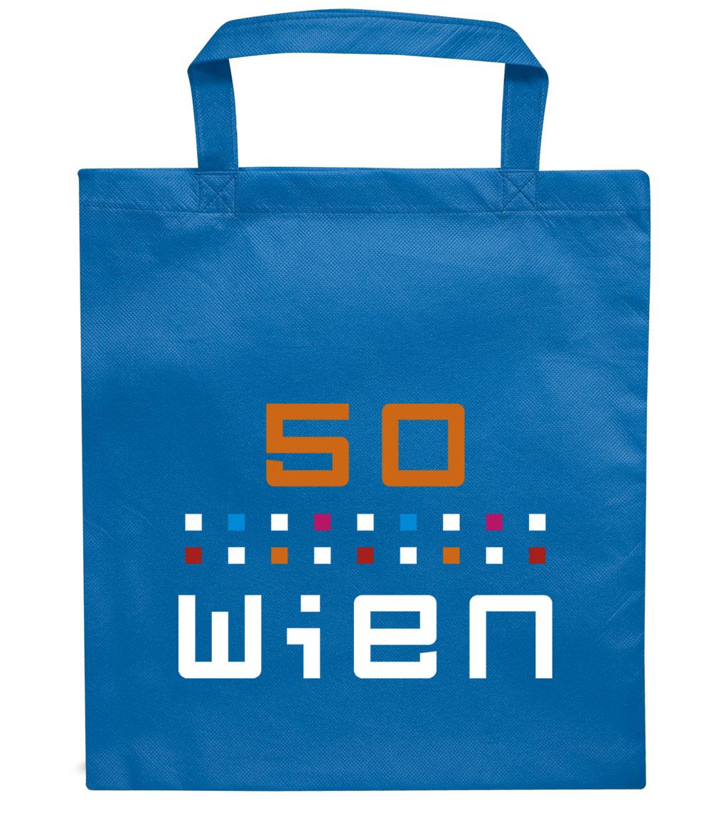 Non-Woven Tasche Modell Wien
