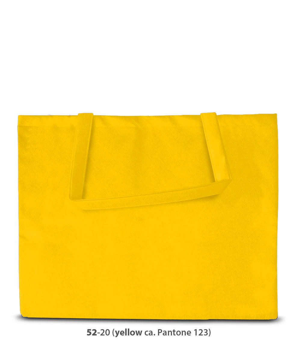 Non-Woven Tasche Zürich in gelb