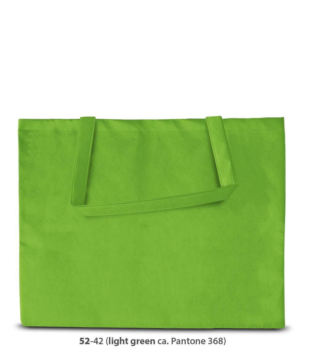 Non-Woven Tasche Zürich in hellgrün