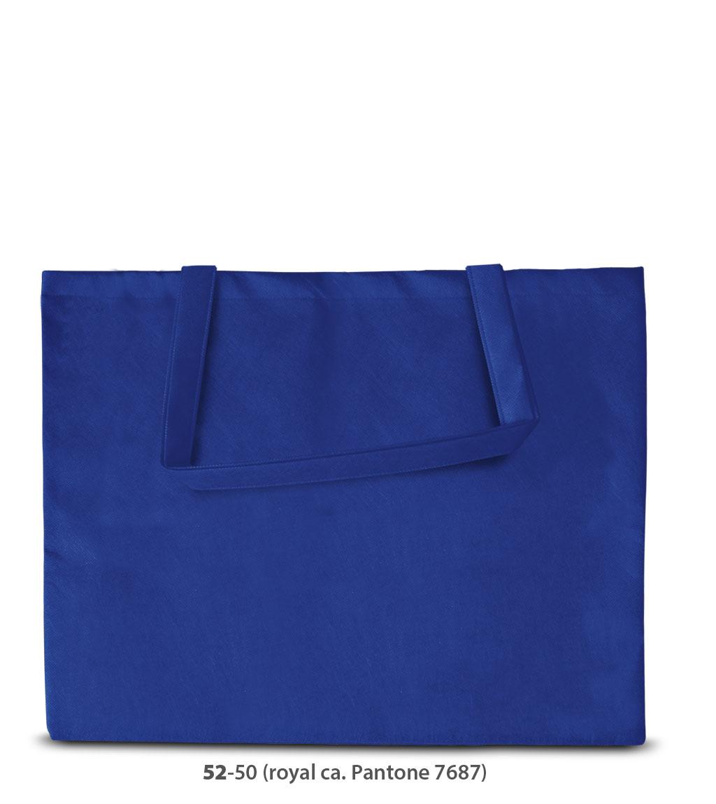Non-Woven Tasche Zürich in blau