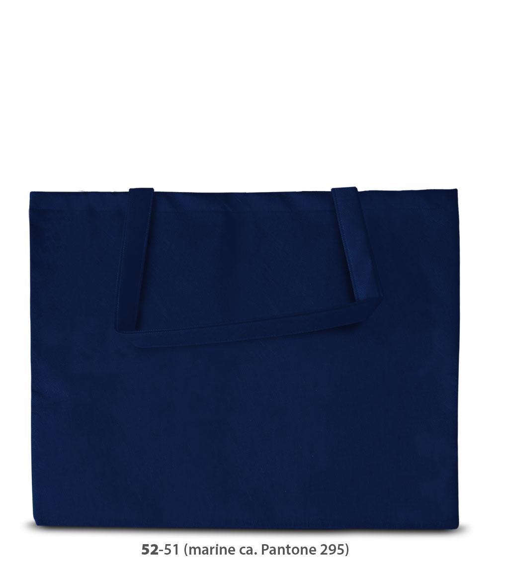 Non-Woven Tasche Zürich in dunkelblau
