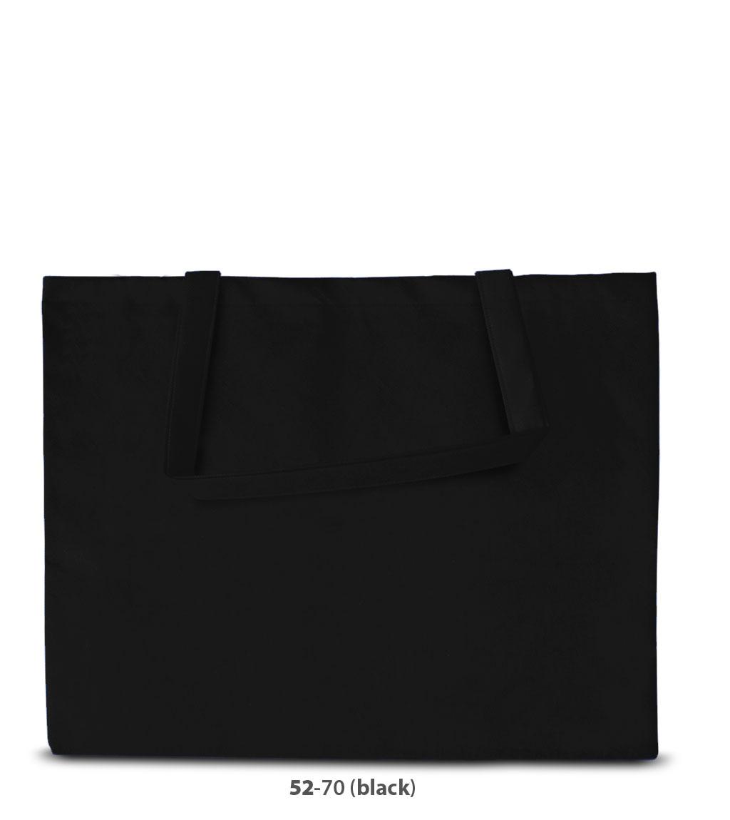 Non-Woven Tasche Zürich in schwarz