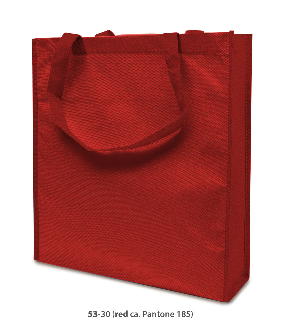 Non-Woven Tasche Lisboa in rot