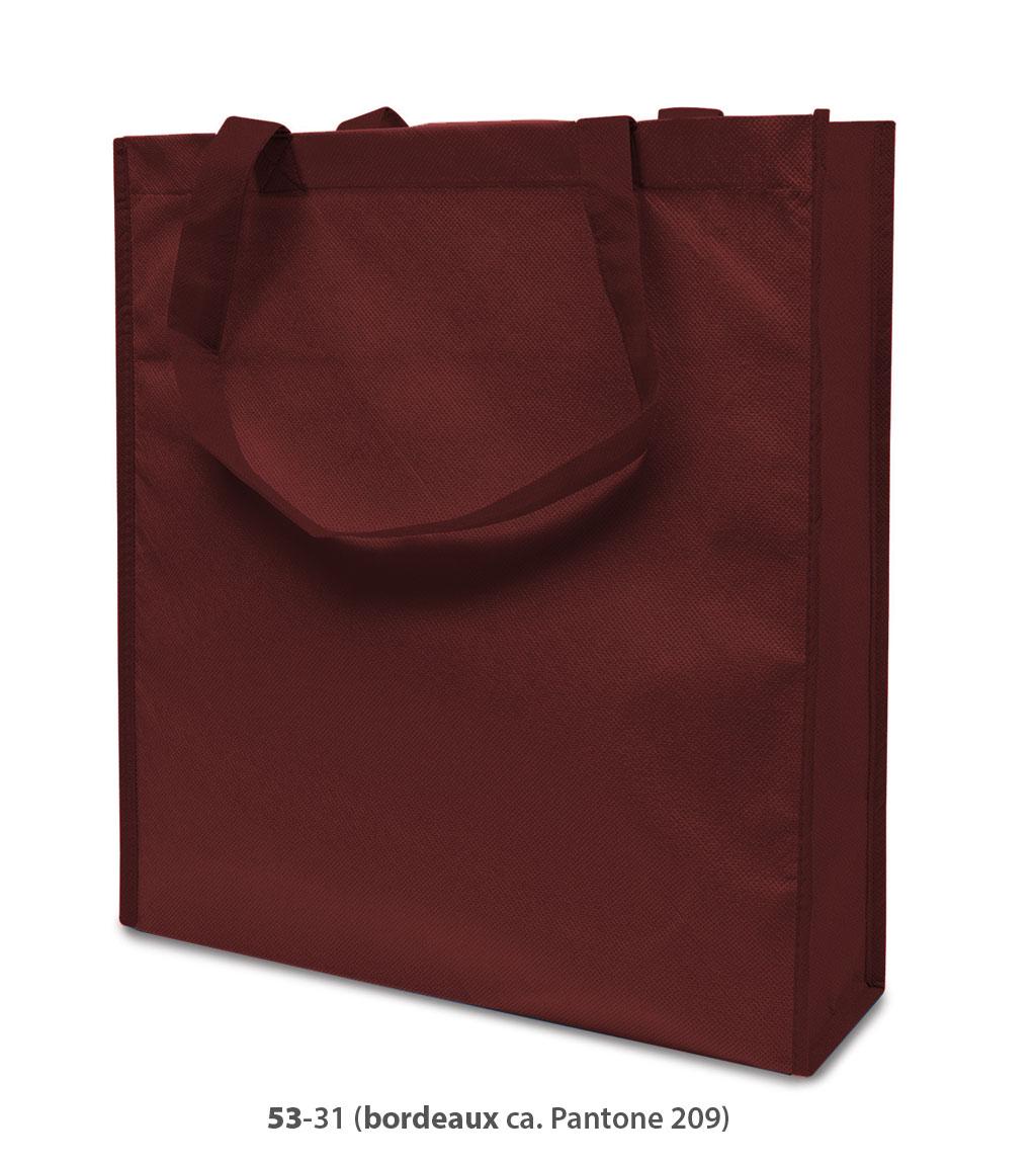 Non-Woven Tasche Lisboa in bordeaux
