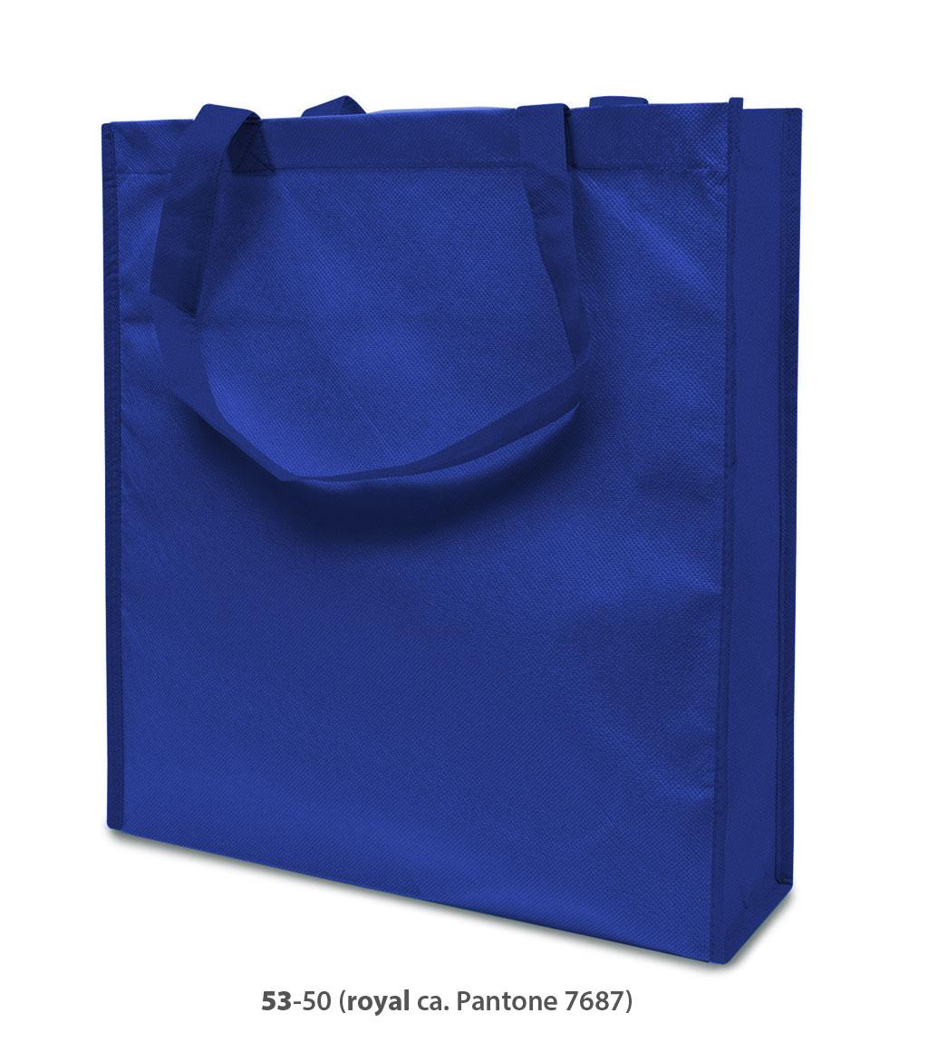 Non-Woven Tasche Lisboa in blau