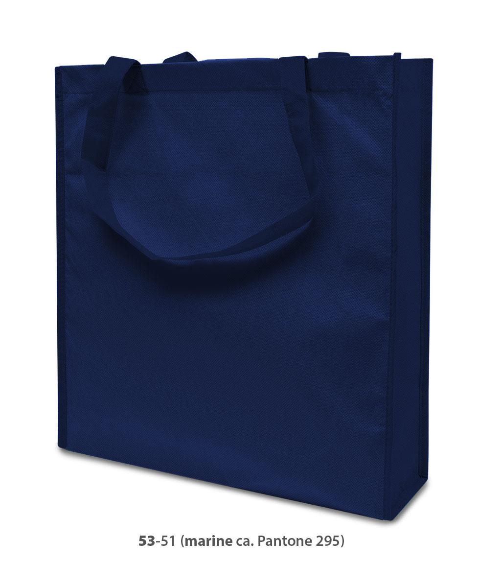 Non-Woven Tasche Lisboa in dunkelblau