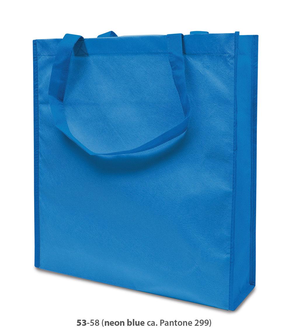 Non-Woven Tasche Lisboa in neonblau