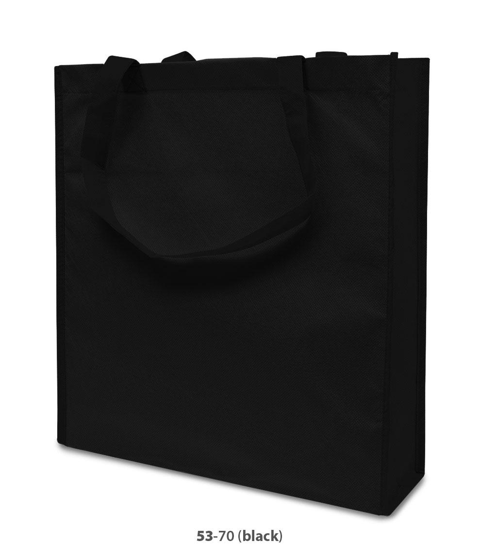 Non-Woven Tasche Lisboa in schwarz
