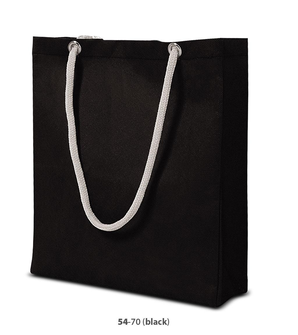Non-Woven Tasche Berlin in schwarz