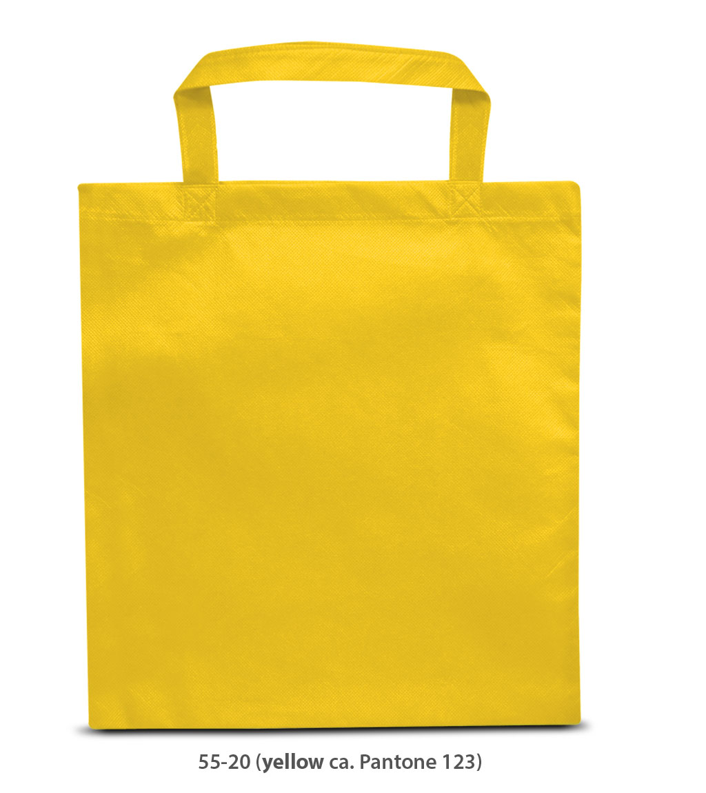 Non-Woven Tasche Prag in gelb