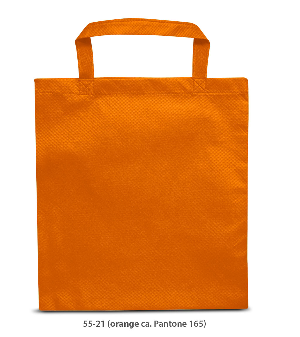 Non-Woven Tasche Prag in orange