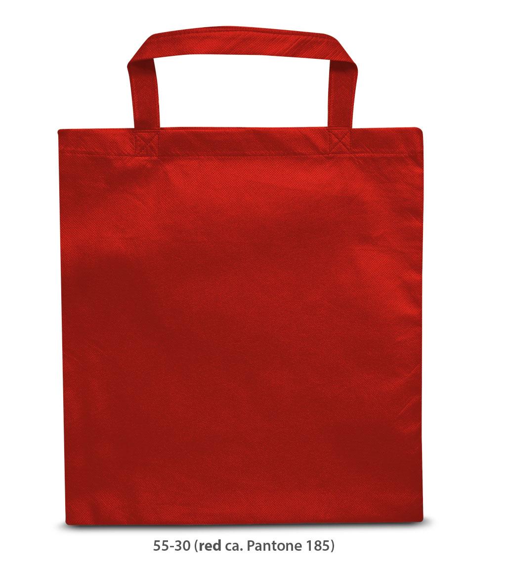 Non-Woven Tasche Prag in rot