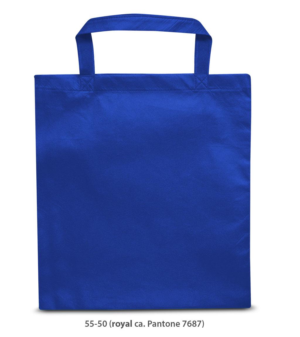 Non-Woven Tasche Prag in blau