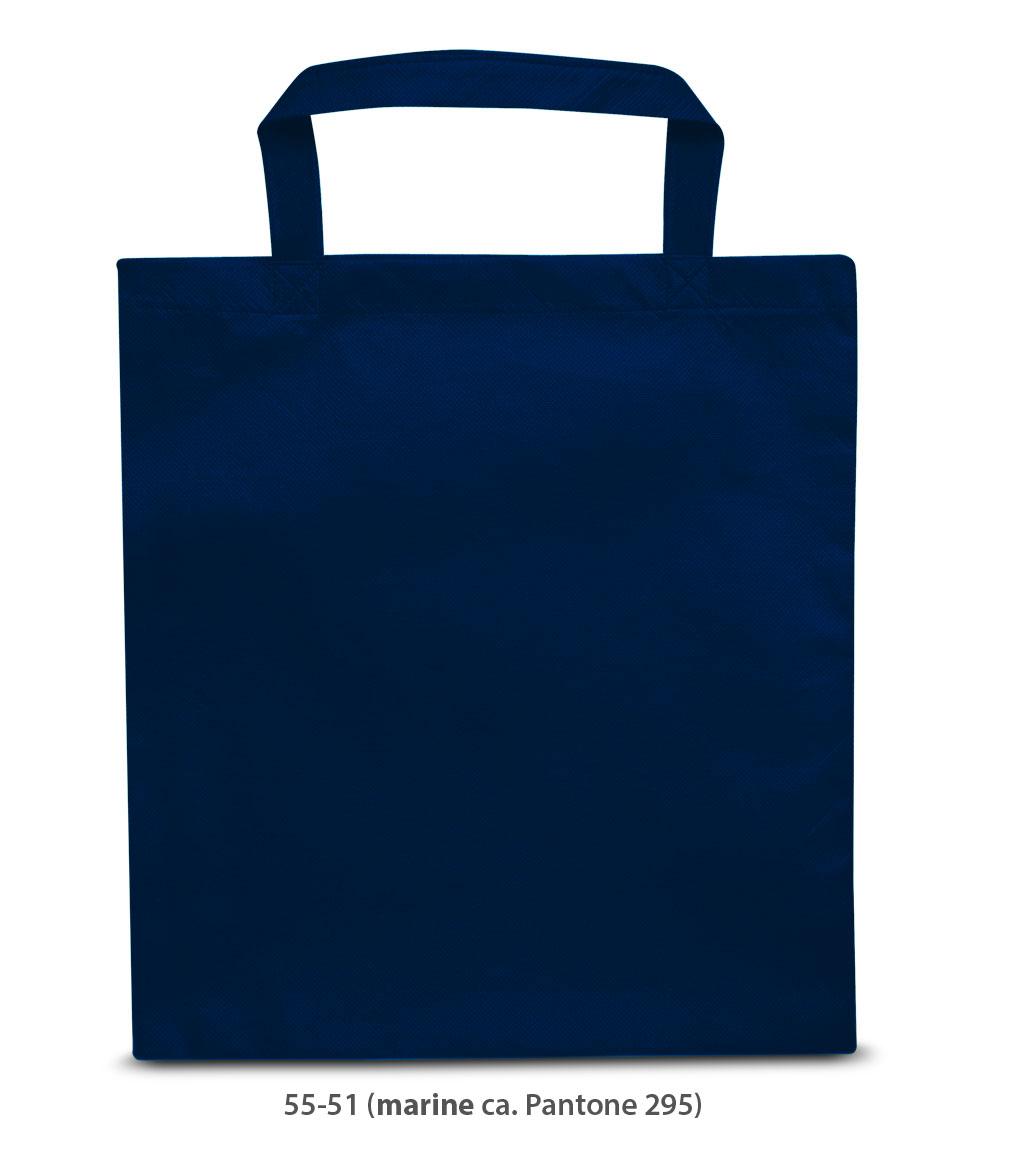 Non-Woven Tasche Prag in dunkelblau