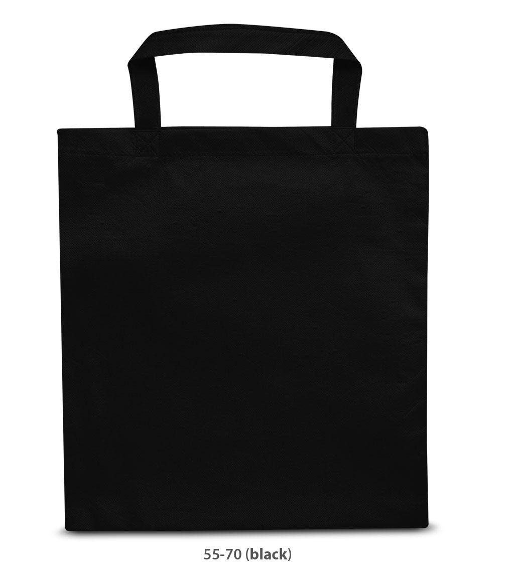 Non-Woven Tasche Prag in schwarz