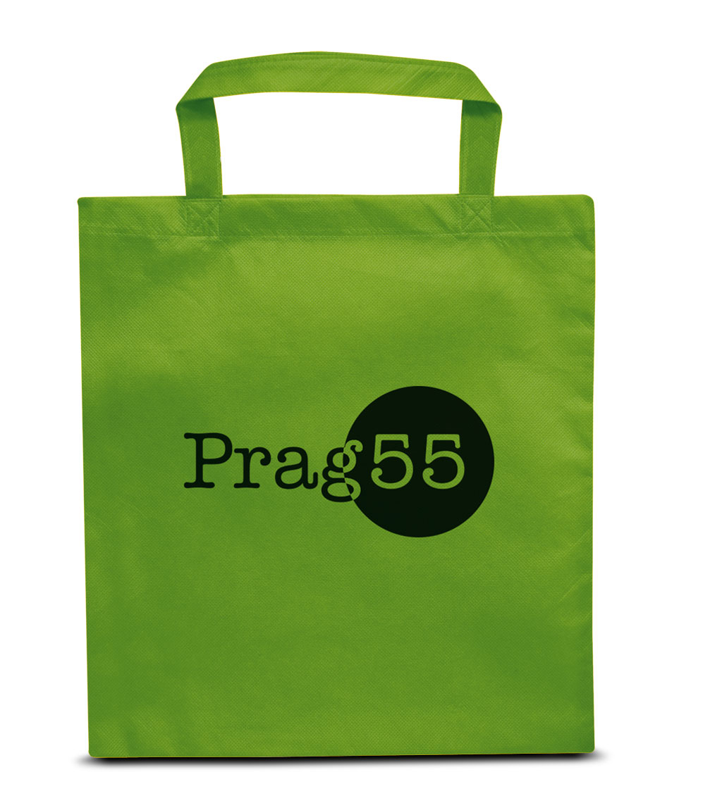 Non-woven Tasche Prag in grün