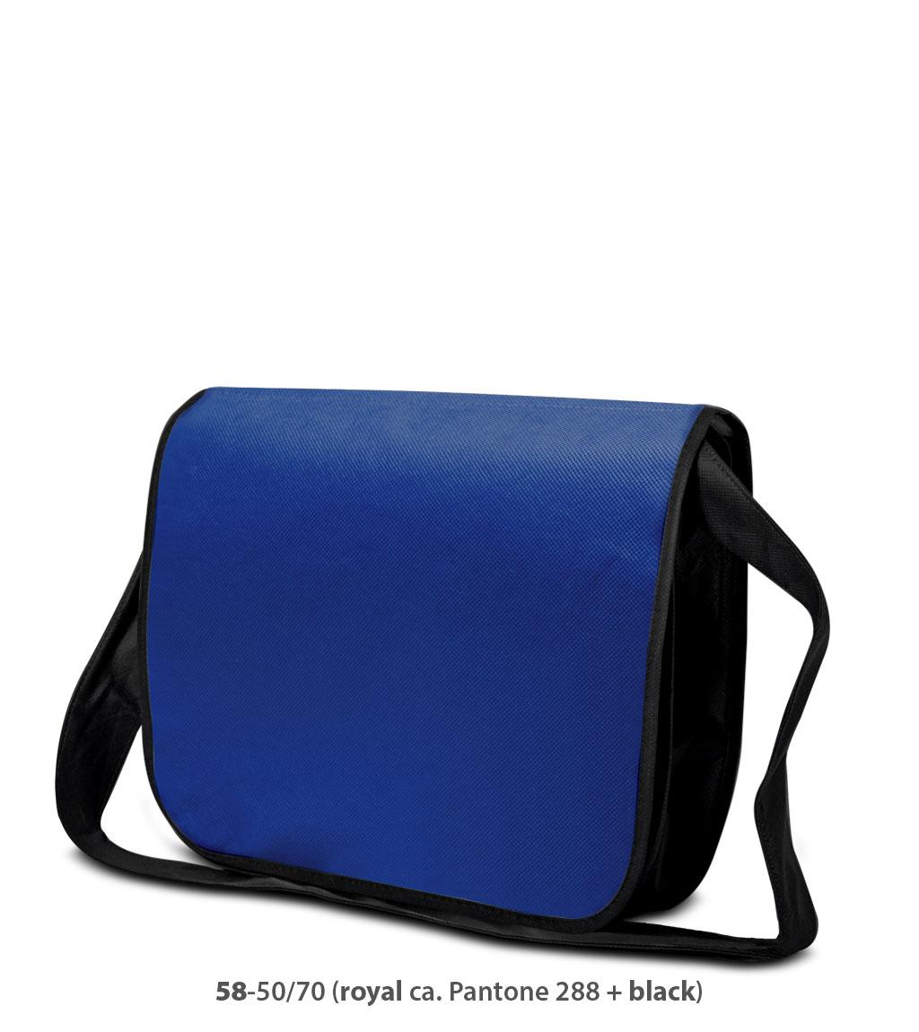 Non-Woven Tasche Frankfurt in blau / schwarz