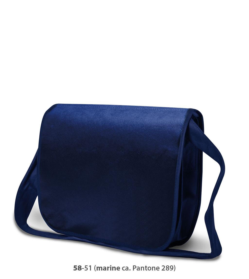 Non-Woven Tasche Frankfurt in dunkelblau