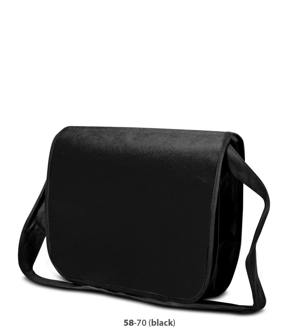 Non-Woven Tasche Frankfurt in schwarz
