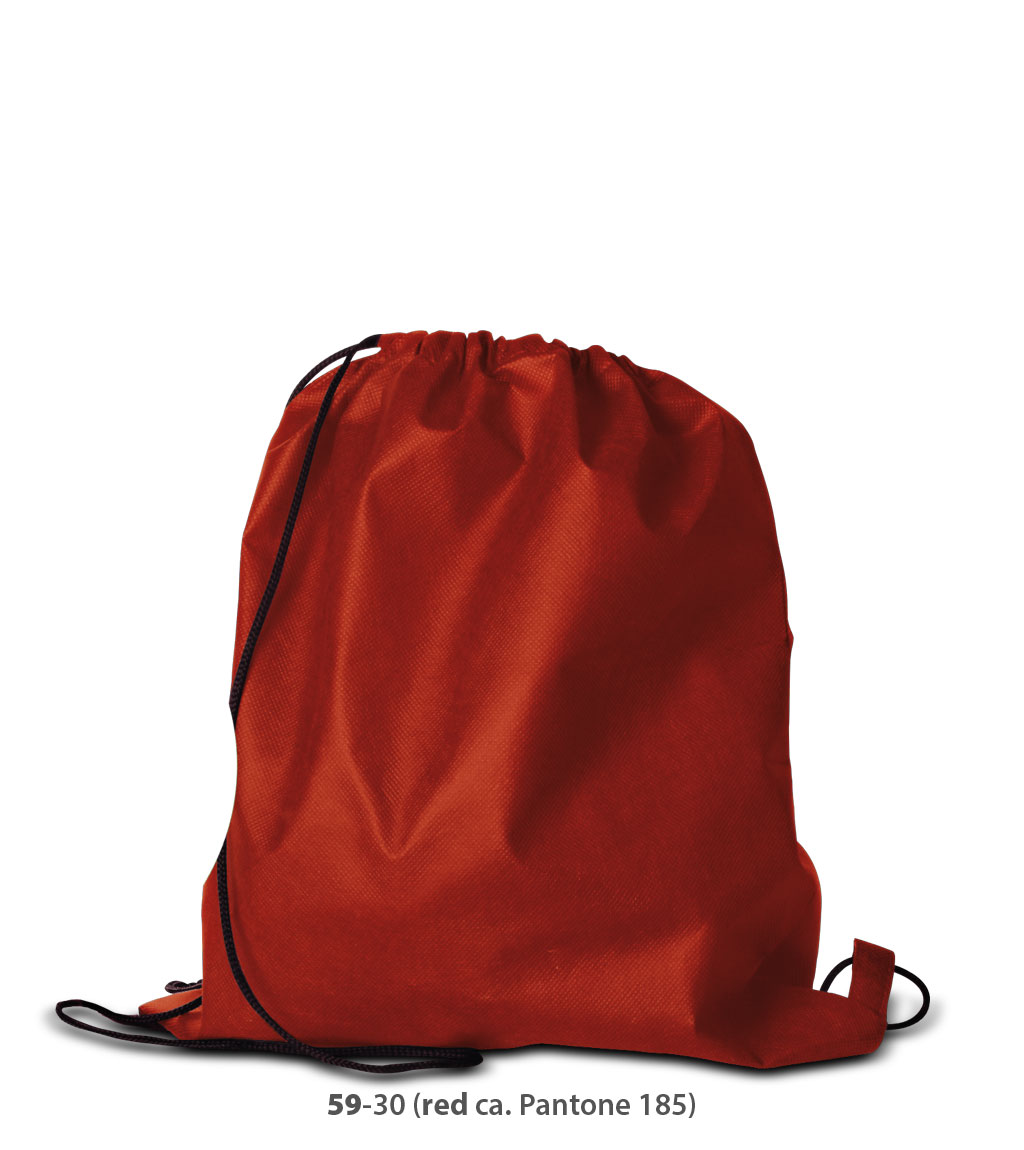 Non-Woven Rucksack Oslo in rot