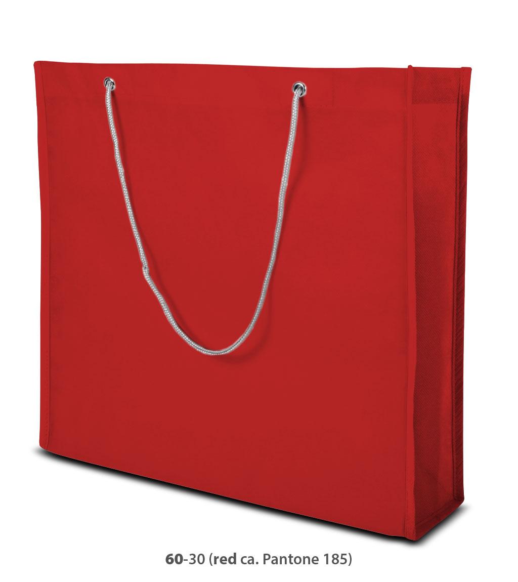 Non-Woven Tasche Milano in rot