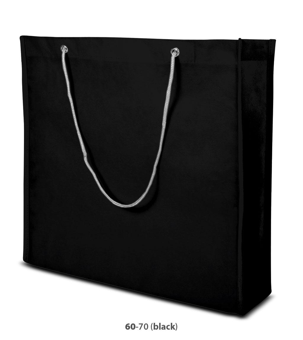 Non-Woven Tasche Milano in schwarz