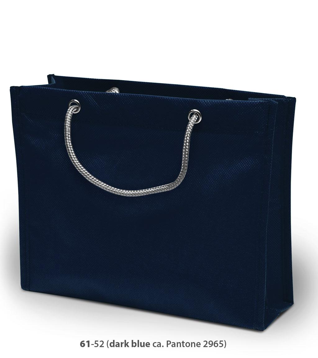 Non-Woven Tasche London in dunkelblau