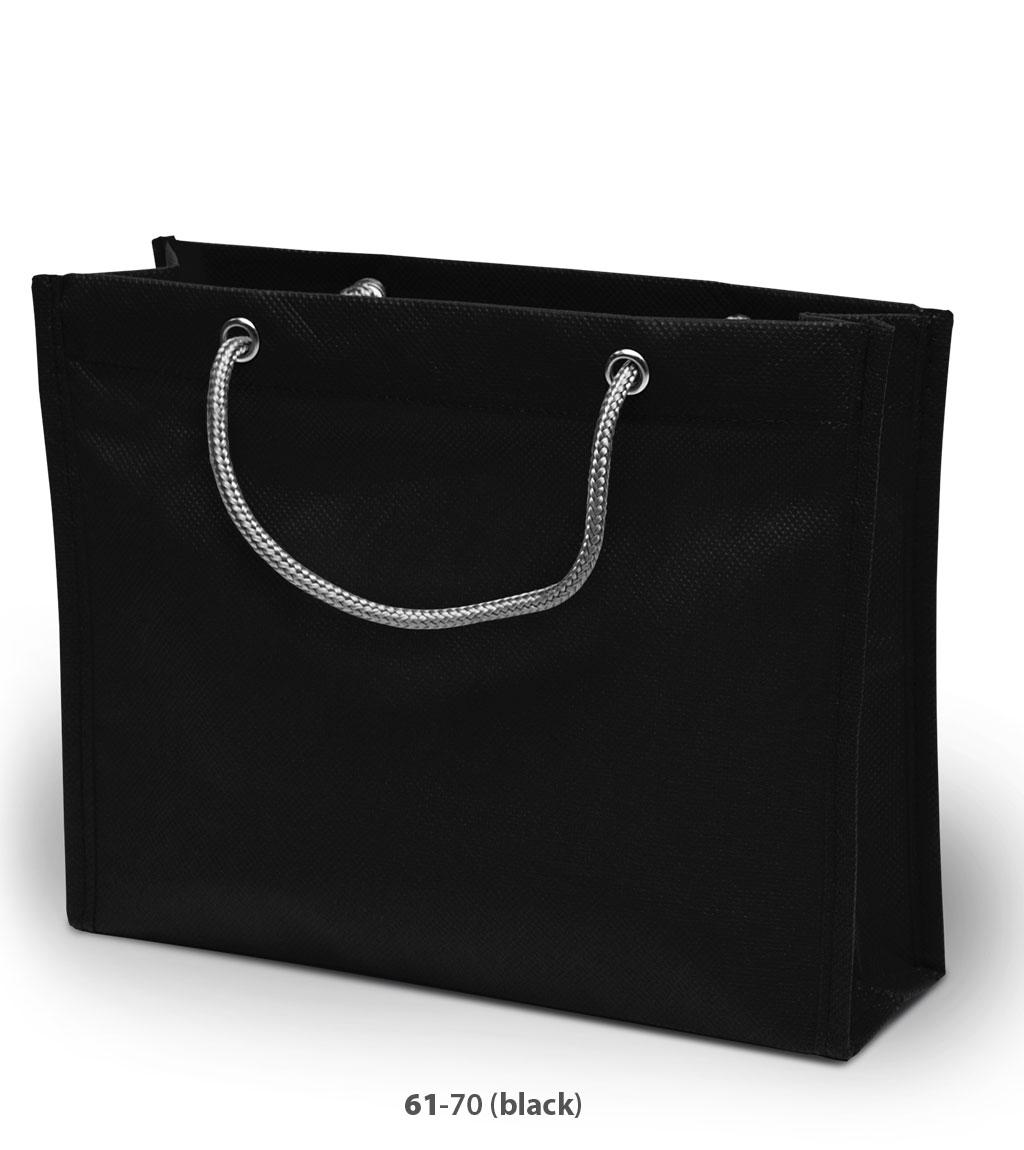 Non-Woven Tasche London in schwarz