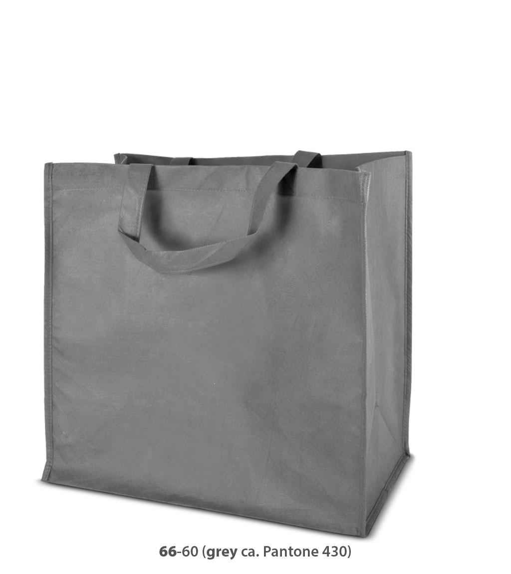 Non-Woven Tasche Moskau in grau