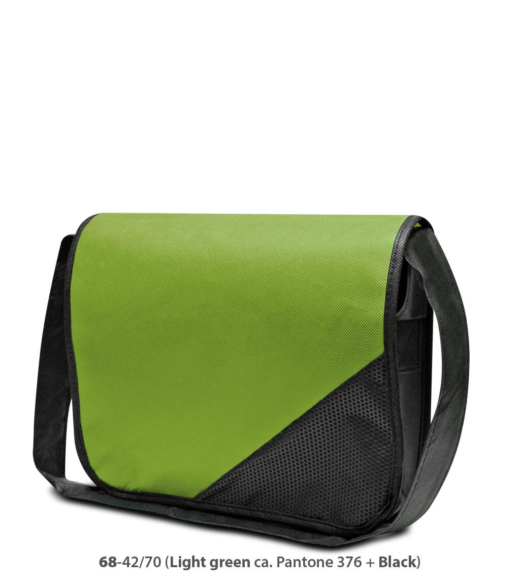 Non-Woven Tasche Wiesbaden in grün/schwarz