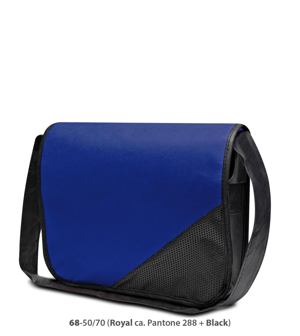 Non-Woven Tasche Wiesbaden in blau/schwarz