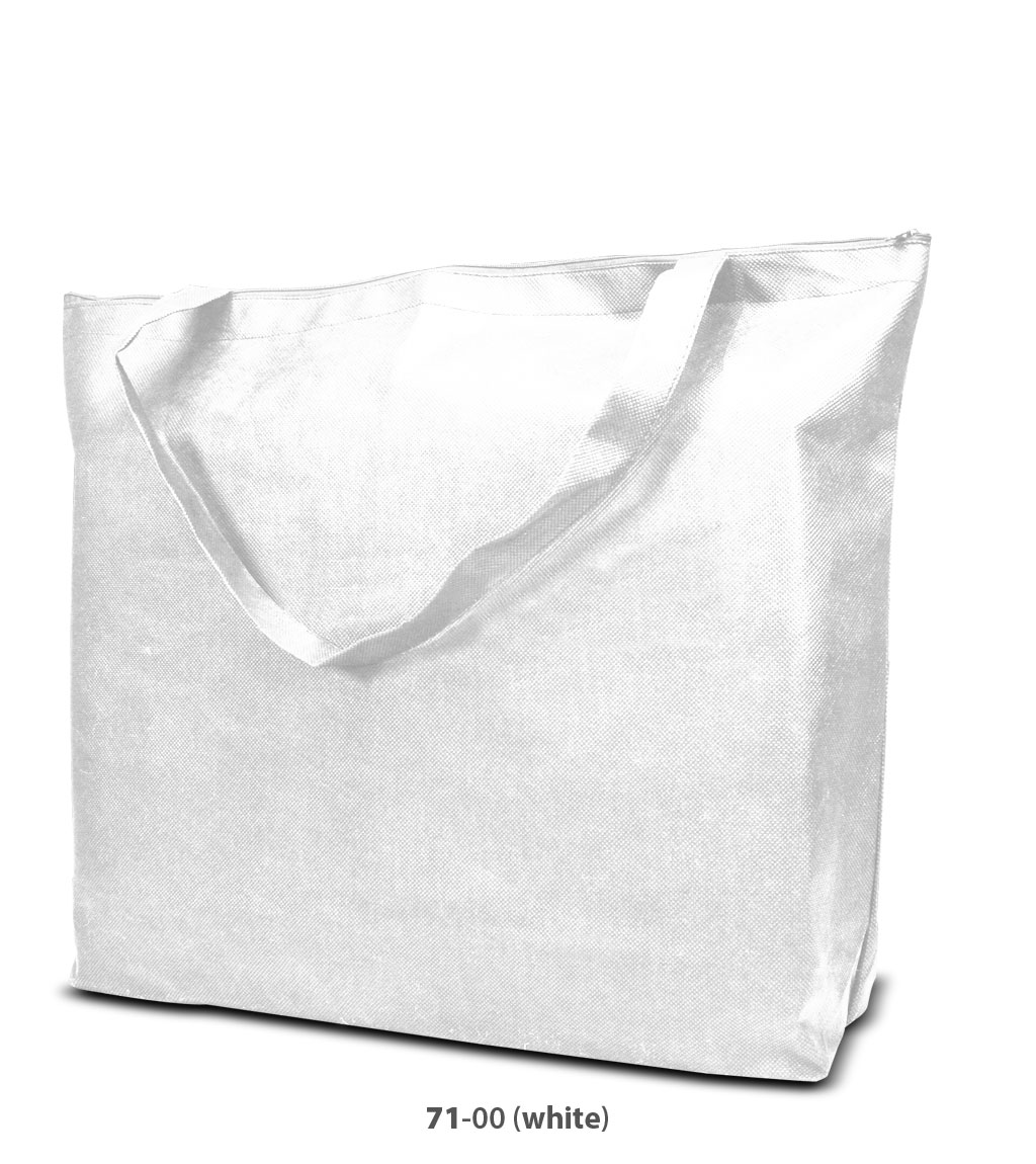 Non-Woven Tasche Stockholm in weiss