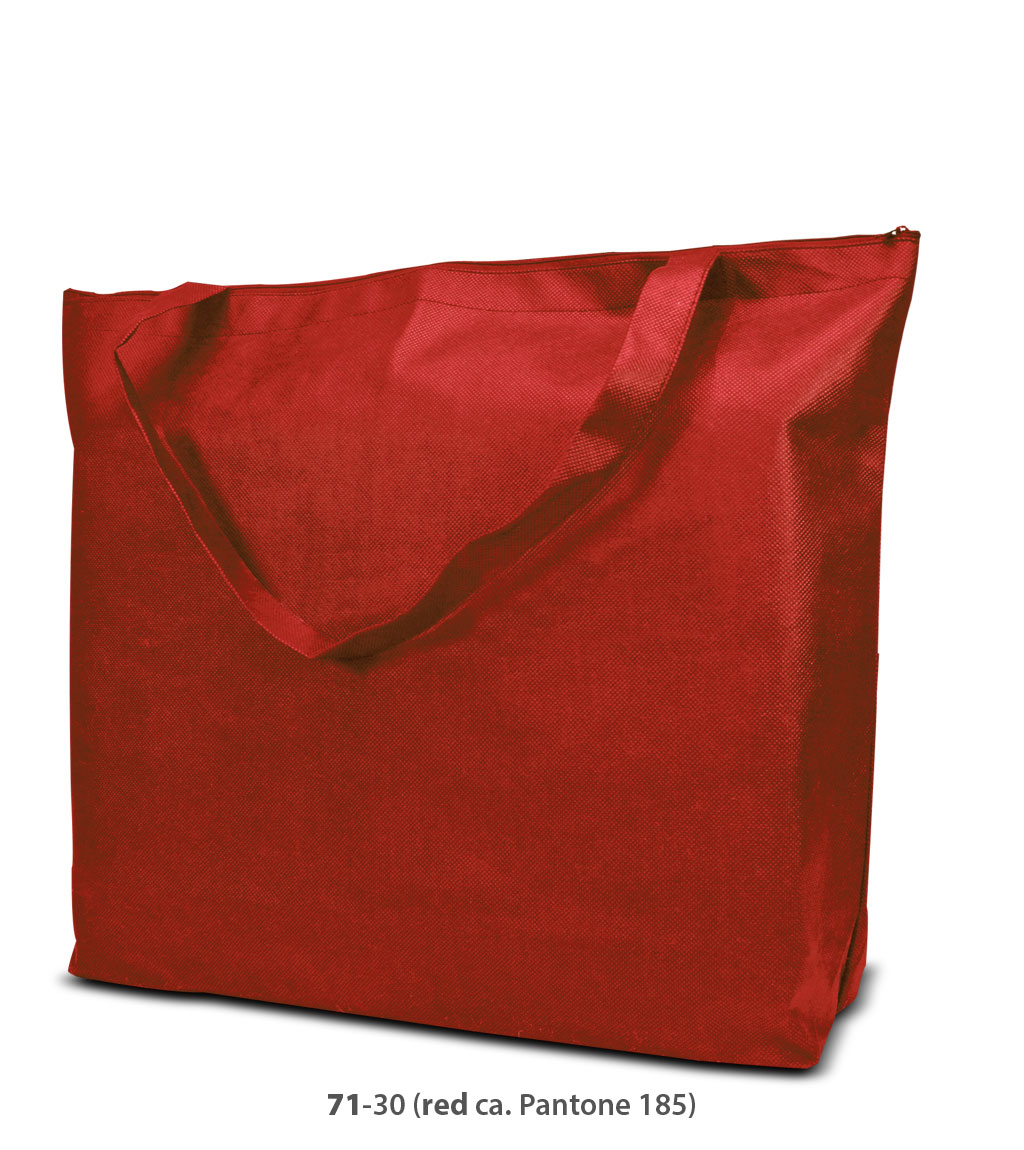 Non-Woven Tasche Stockholm in rot