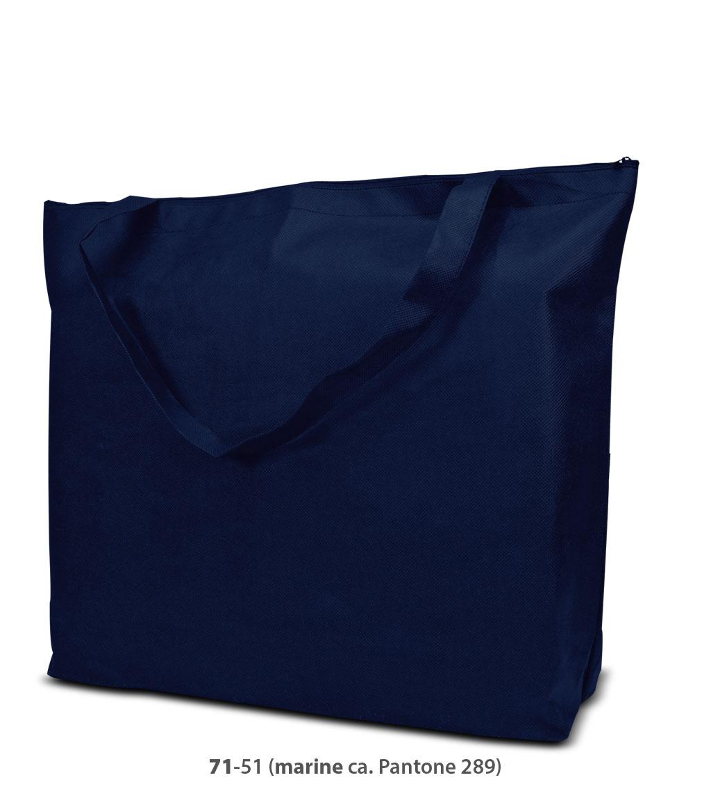 Non-Woven Tasche Stockholm in dunkelblau