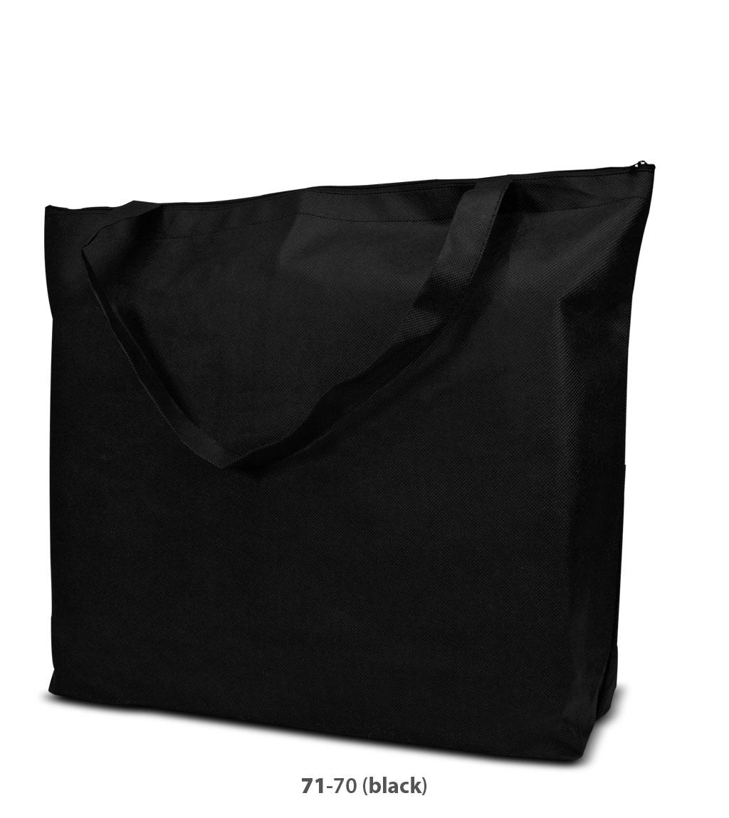 Non-Woven Tasche Stockholm in schwarz