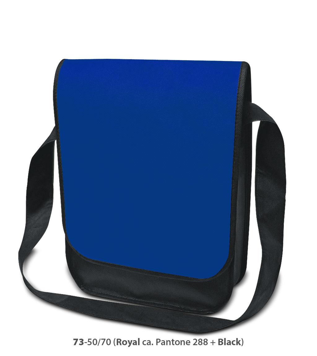 Non-Woven Tasche Dublin in blau/schwarz