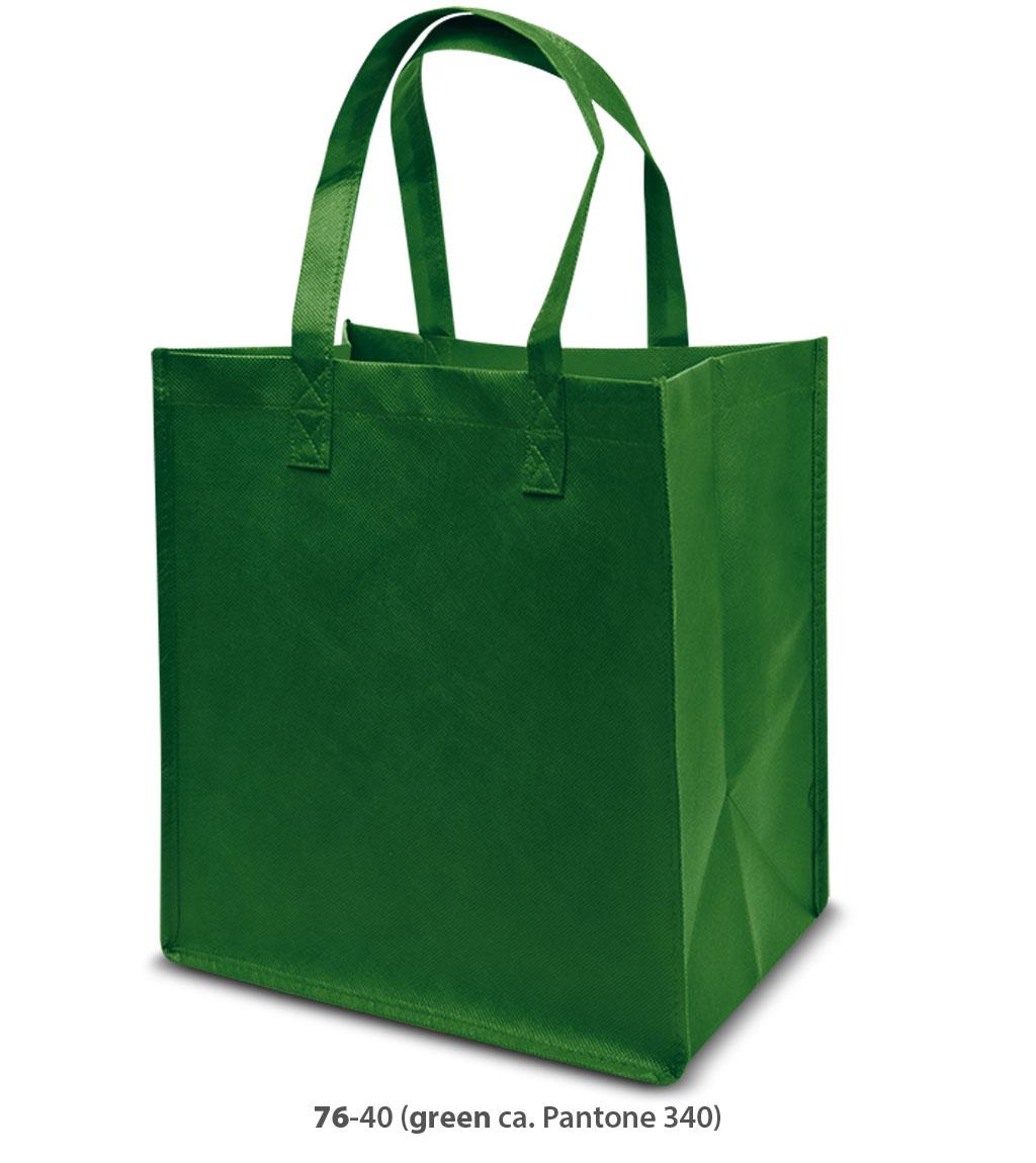 Non-Woven Tasche Como in grün
