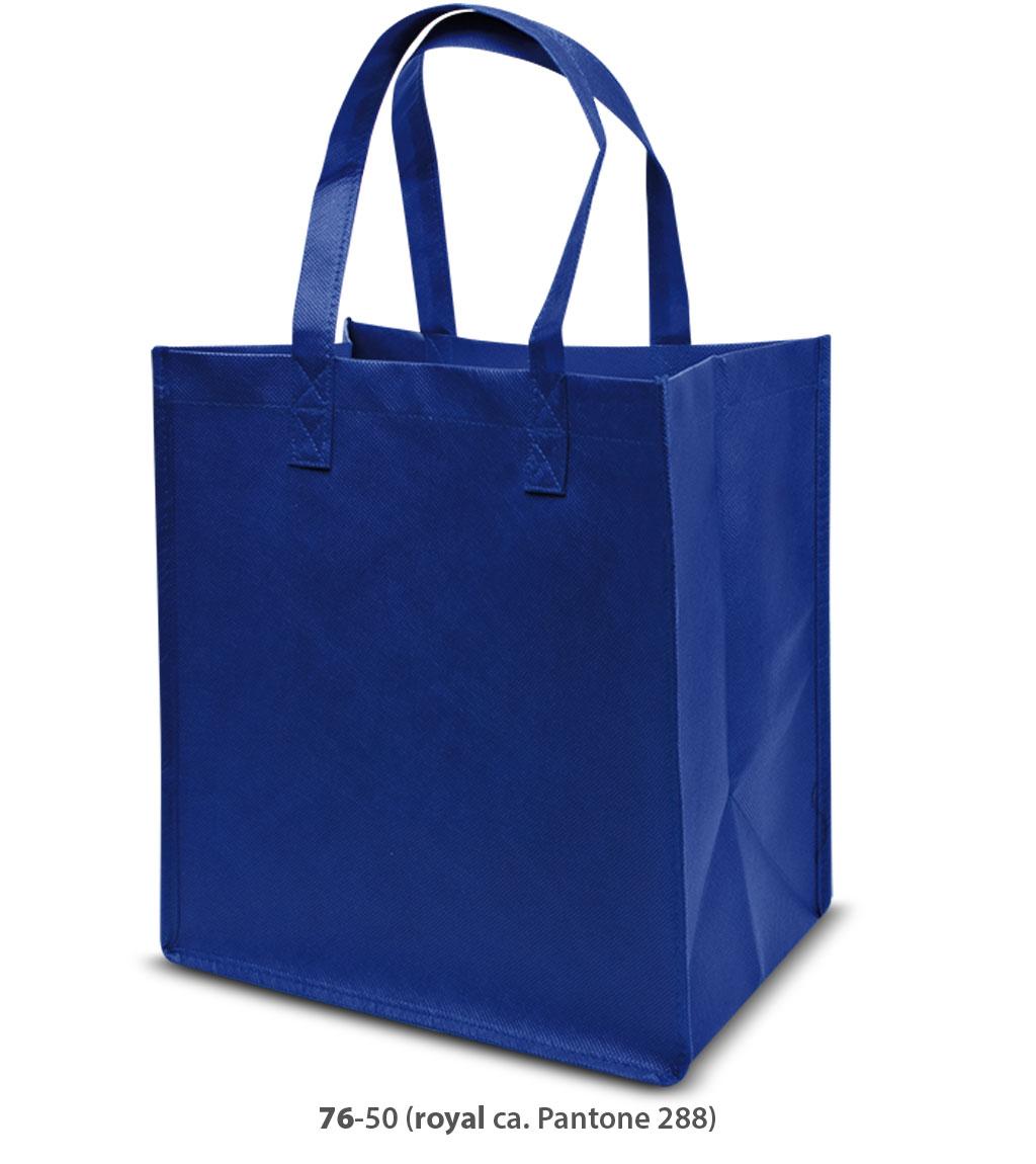 Non-Woven Tasche Como in blau
