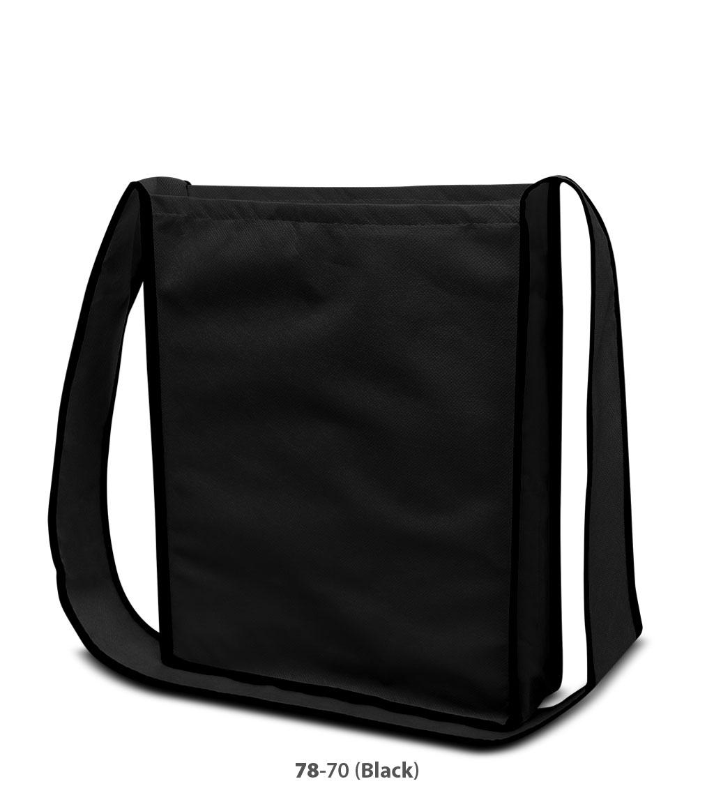 Non-Woven Tasche Bristol in schwarz