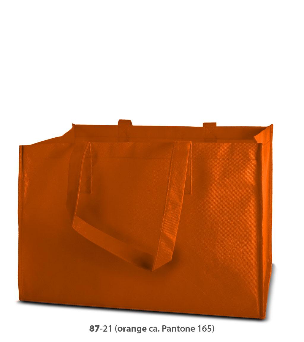 Non-Woven Tasche Prato in orange