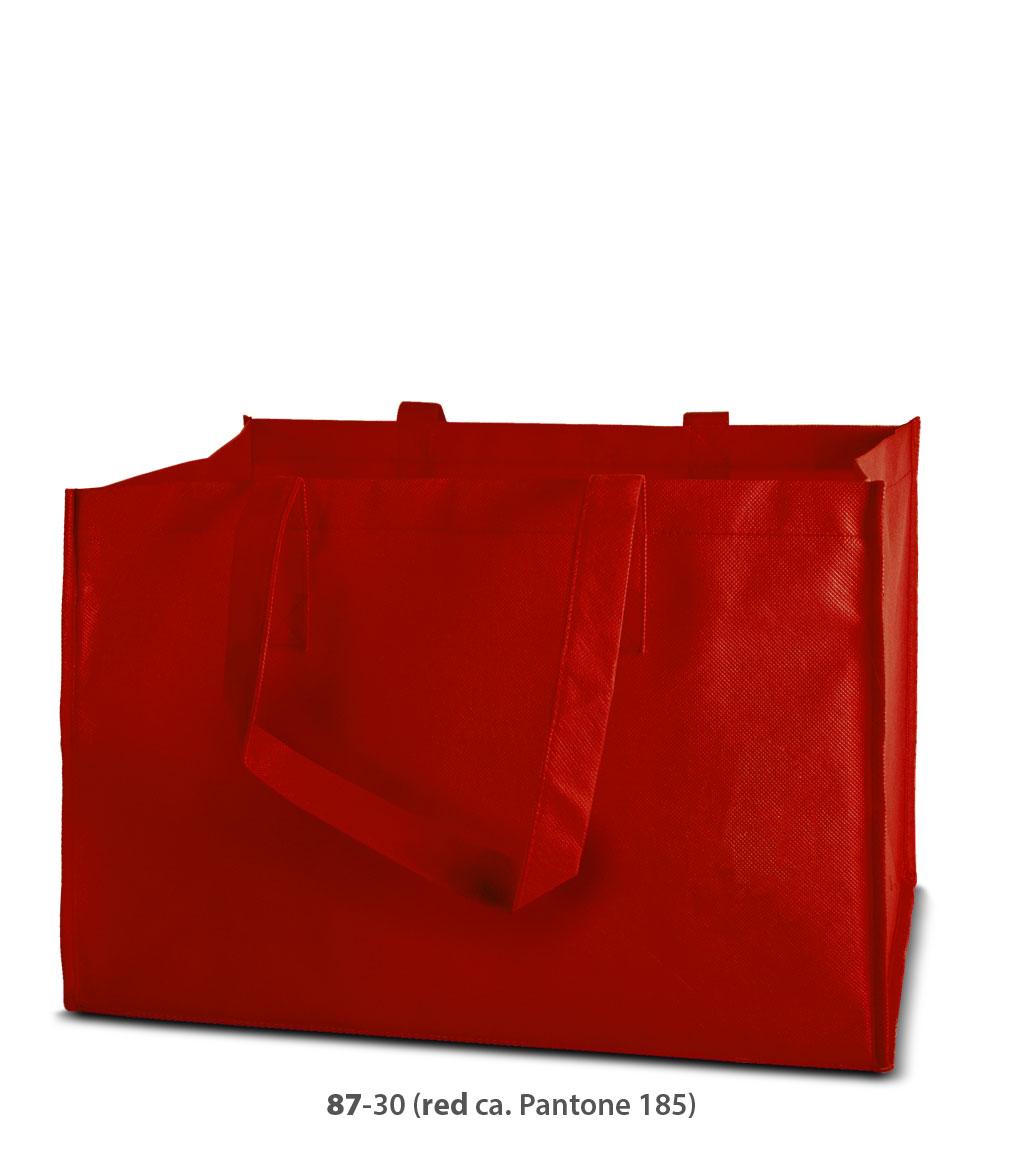 Non-Woven Tasche Prato in rot