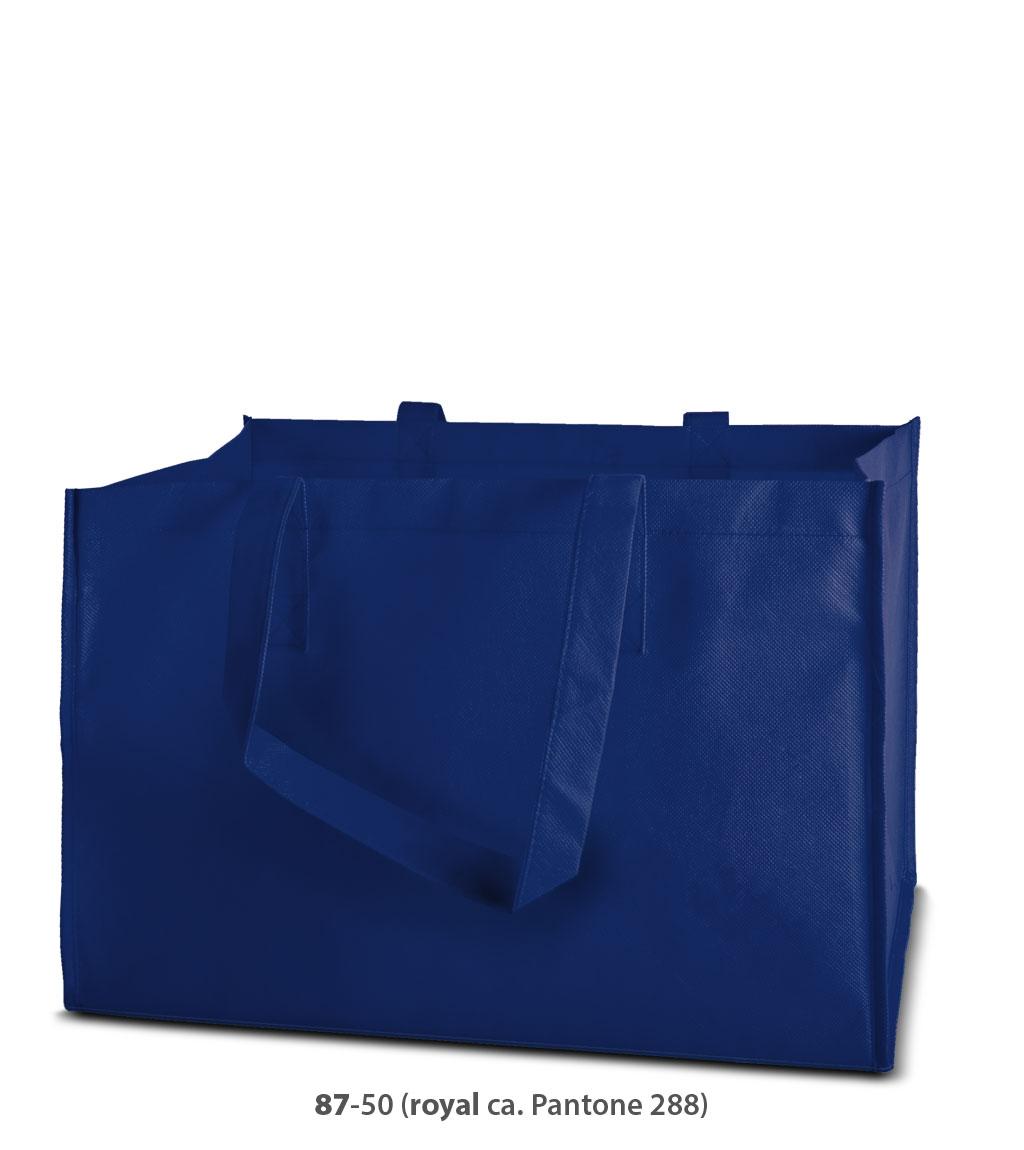 Non-Woven Tasche Prato in blau