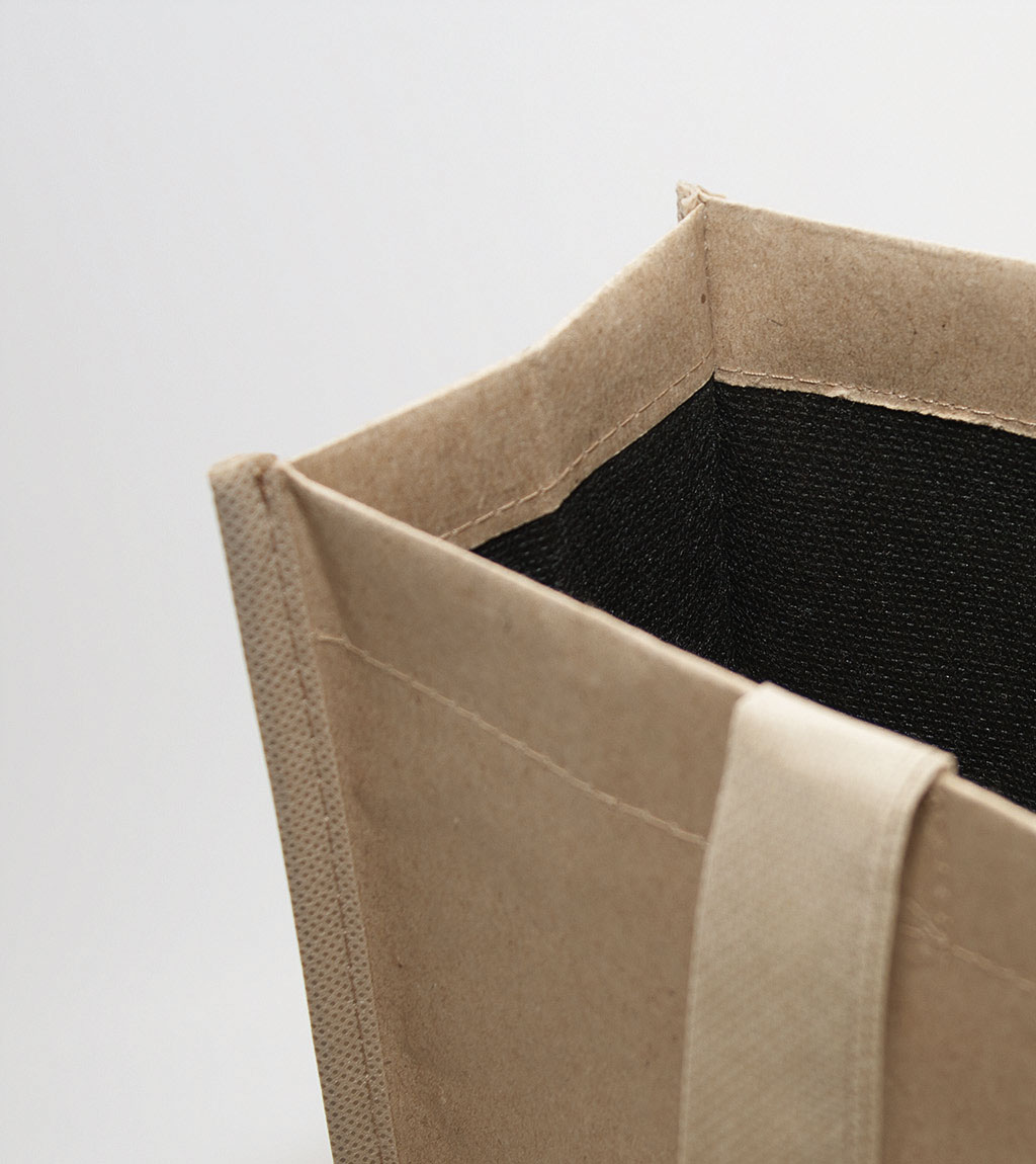 Coated Tasche Bedford Detailansicht