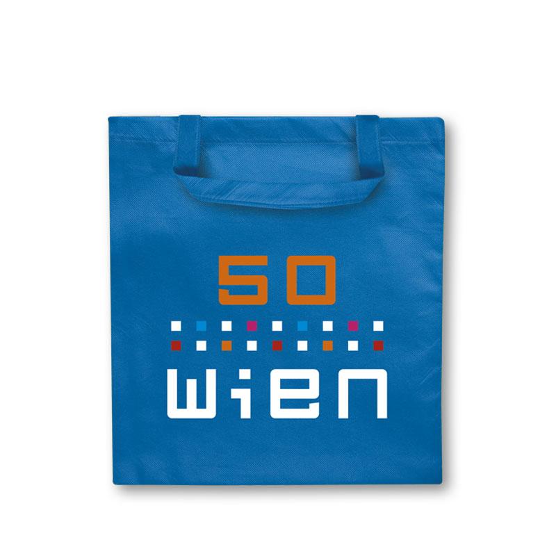 Non-Woven Tasche Wien in blau